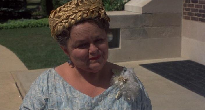 Squeaky shoes lady from    Sixteen Candles   Young Zelda Rubinstein
